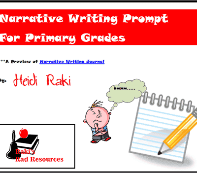 Primary Grade Prompt for Narrative Writing