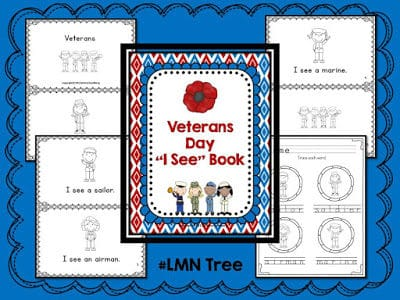 2 Veterans Day Activities for K-2