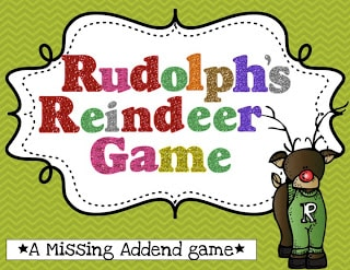 Missing Addends-Reindeer Style!