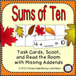 Autumn Task Cards – Missing Addends!