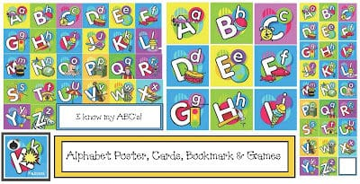 Colorful Alphabet packet