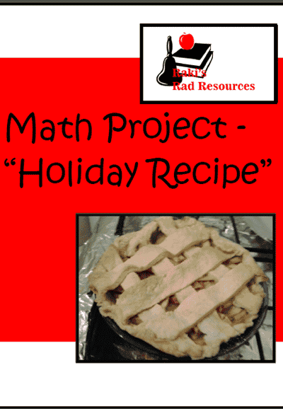 Recipe Math Project