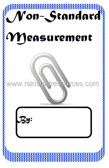 Non-Standard Measurement Book