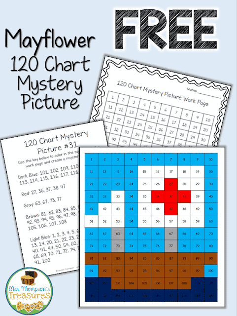 http://www.mrsthompsonstreasures.com/p/s.html#!/Thanksgiving-Mayflower-120-Chart-Mystery-Picture/p/43678410/category=11418220