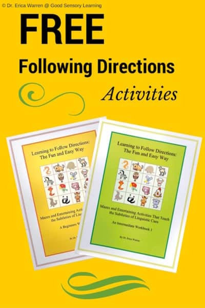 Free Following Directions Activities