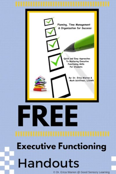 Free Help for Students with Executive Functioning Challenges