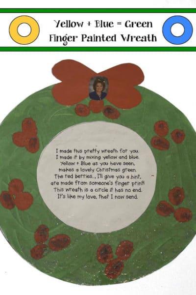 Keepsake Christmas Wreat Craft