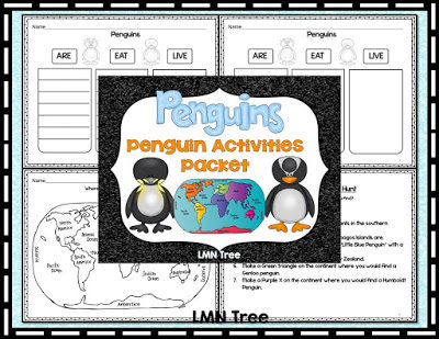 Penguin Activity Packet