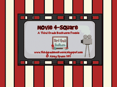 Movie 4-Square Response Pages