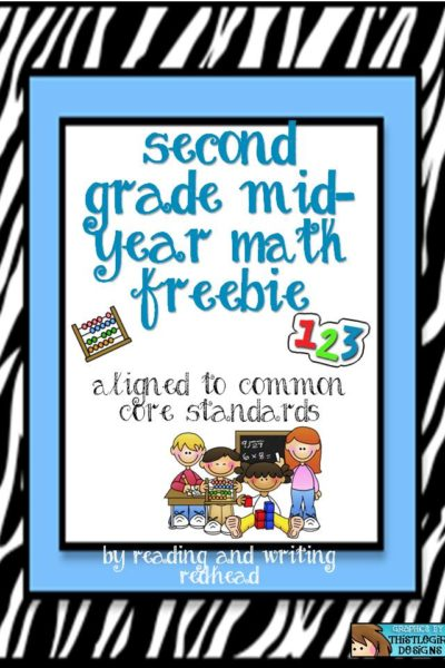 Mid-Year Math Review Freebie