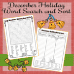 A Holiday Word Search and Sort