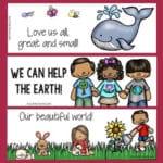 Environmentally-themed Bookmarks