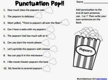 Punctuation Pop!