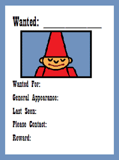 Wanted Elf Writing Prompt