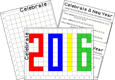 New Year Grid Message