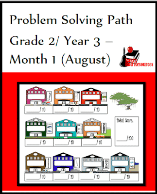 Problem Solving Math Journal for 2nd Grade