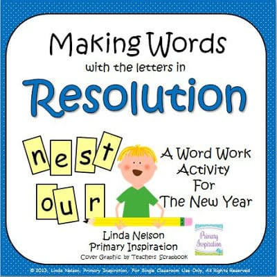 Making Words: Make It a Resolution!