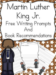 7 Martin Luther King Bookmarks Classroom Freebies