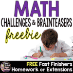 Math Challenges & Brainteasers Freebie