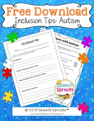 Inclusion Tips For Teachers: Autism