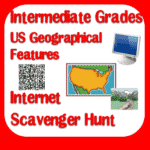 Internet Scavenger Hunt for US Geographical Features