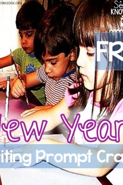 Sea of Knowledge's FREE New Year Writing Prompt Crafts!