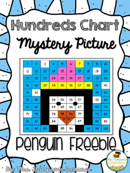 Penguin Hundreds Chart Freebie