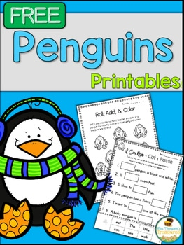 Penguin Printables