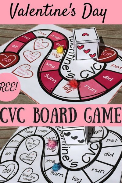 Valentine's Day CVC Board Game