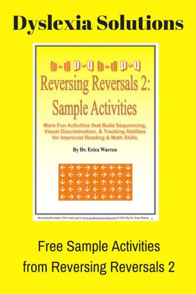 Dyslexia Solutions Freebie Sample Activities