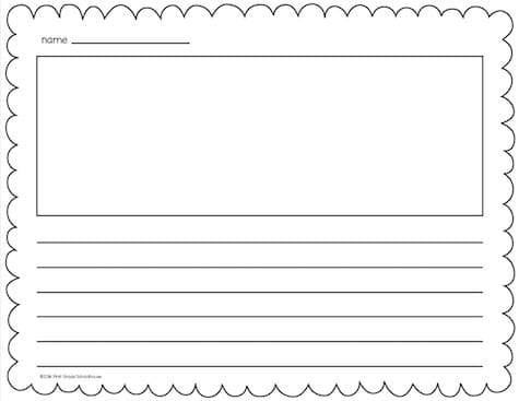Lined Writing Paper - Classroom Freebies