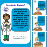 "Matter ~ NGSS ""I Can"" Statement Posters"