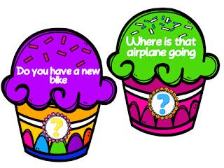 Punctuation Valentine Cupcake