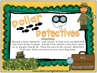 Help Your Students Become Dollar Detectives!