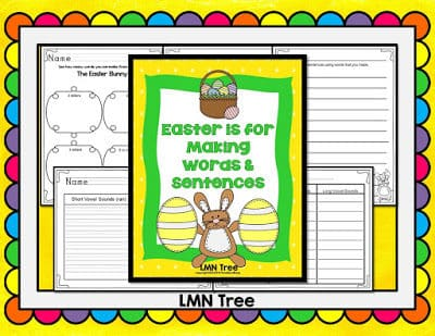 The Easter Bunny: Making Words and Sentences