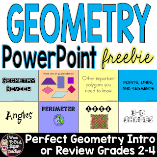 Geometry PowerPoint – Great for Intro or Review