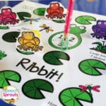 Hop By and Grab a Frog and Pond Themed Gameboard Freebie for Spring: Ribbet!