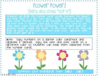 Flower Power-a Math Game