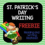 New St. Patrick's Day Writing Prompt Freebie