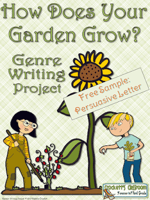 Spring is here!  Time to start writing!  I know kids want to be outside, and so do the teachers.  With this fun and engaging writing project you can bring a little bit of the spring fever into your classroom and still keep the kids writing.