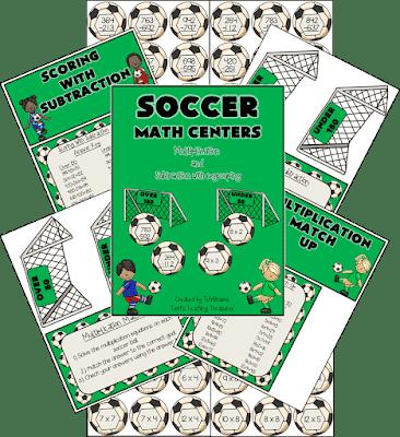 Soccer Math Centers