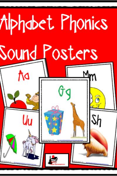 Free Alphabet Phonics Posters