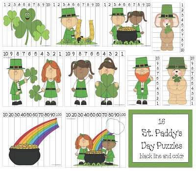 St. Paddy's Day Puzzles.