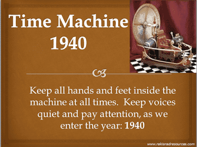 Free Power Point Time Machine for the Year 1940