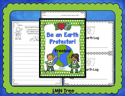 "Be an Earth Protector with this ""My Earth"" Log Journal"
