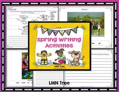 Spring Writing Activity Packet