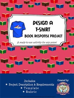 Design a T-Shirt Book Response Project