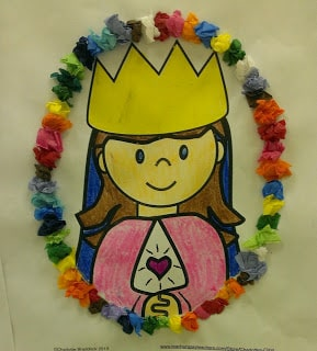 Free May Crowning Craft