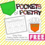 National Poetry Month Freebie #1 (From the Classroom Game Nook)
