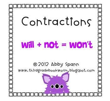 Contractions Flipchart
